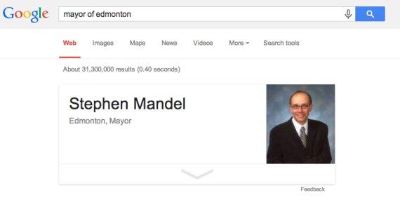 google edmonton mayor