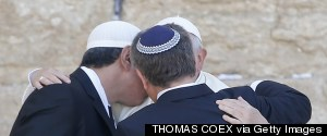 POPE FRANCIS WESTERN WALL