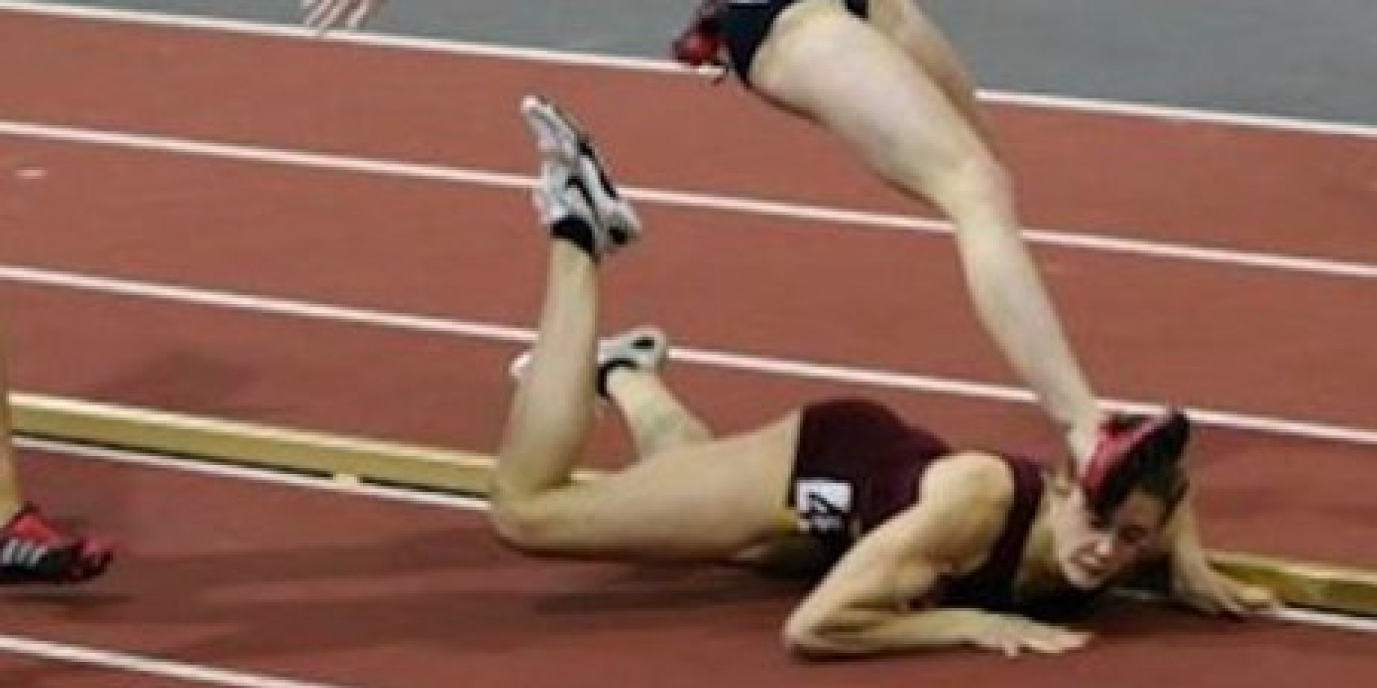 This Inspiring Runner Took A Nasty Fall, But She Didn't Stay Down ...