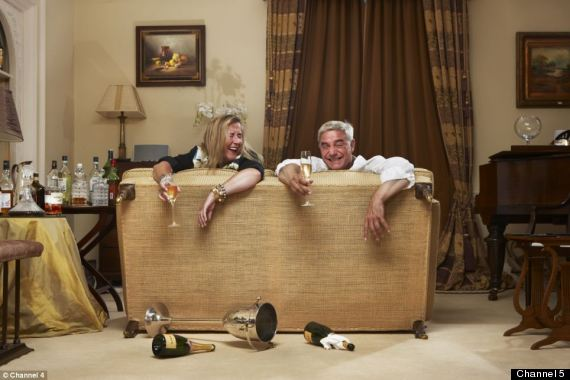 The posh couple on gogglebox celebrity