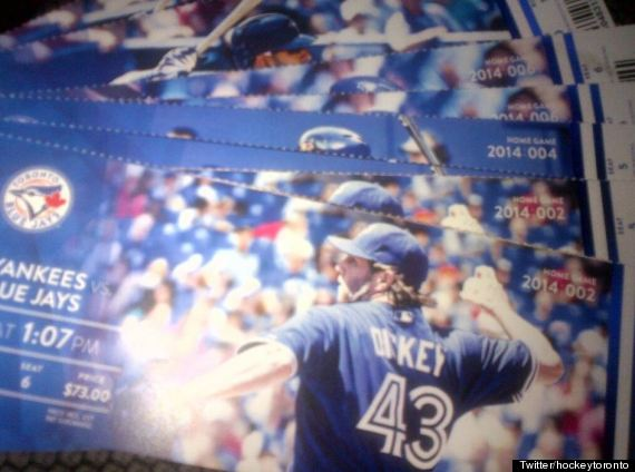 blue jays ticket
