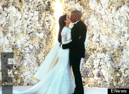 Kimye's First Wedding Photos Emerge