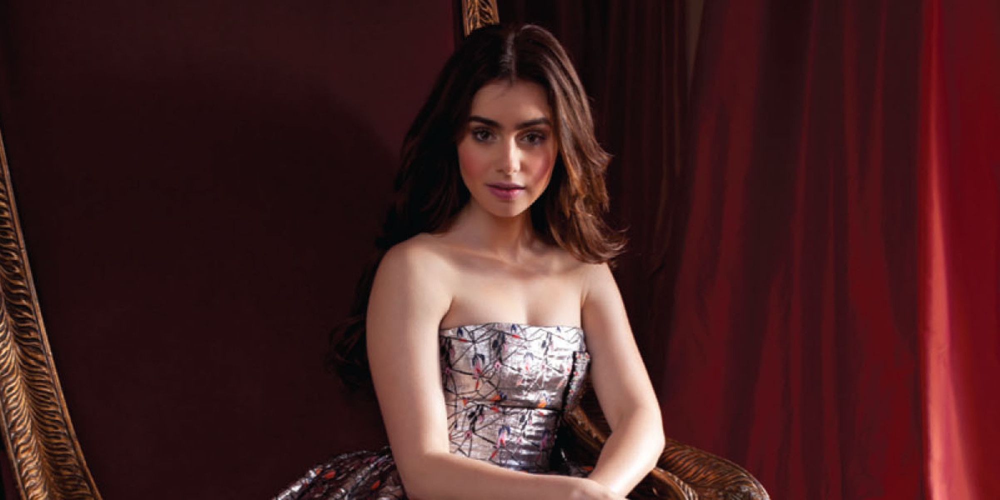 Lily Collins Gets The Fairytale Treatment In CR Fashion ...