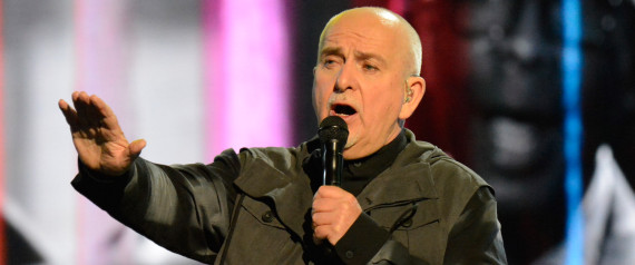 PETER GABRIEL HALL OF FAME