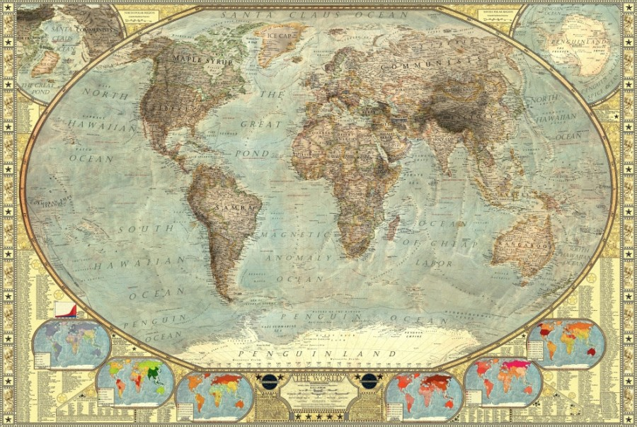 according to the independent it took vargic three months to finish his massive illustration based on publicly available geographic data and a slew of