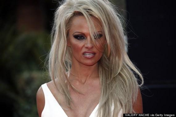 pamela anderson extensions Pamela Anderson