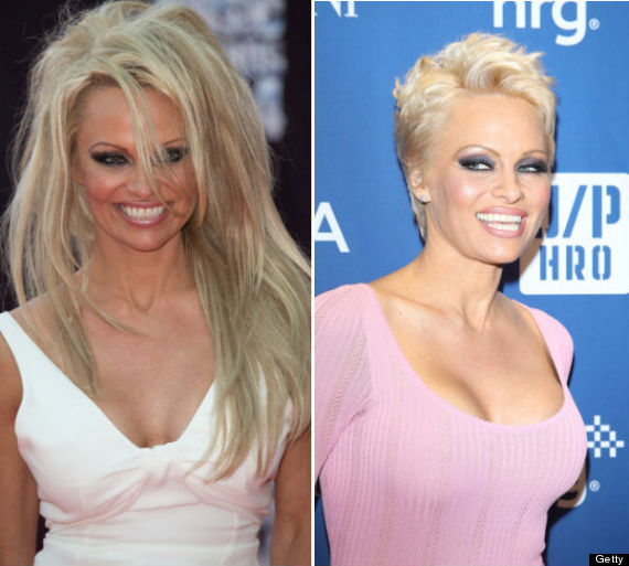 Pamela Anderson Gets Hair Extensions And Says Goodbye To Her Pixie