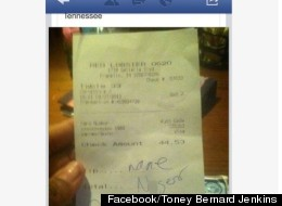 Red Lobster Sued After Alleged Racist Receipt Goes Viral