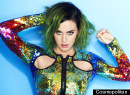 Katy Becomes Cosmo's First Global Cover Star