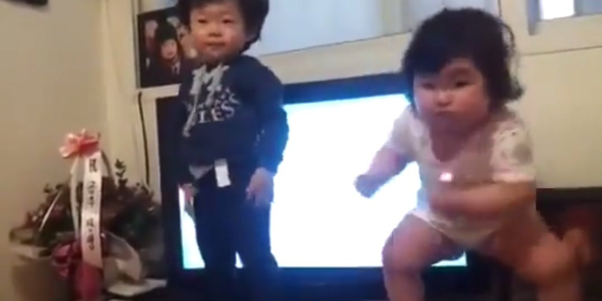 This chubby toddler is the best dancer the internet has ever seen