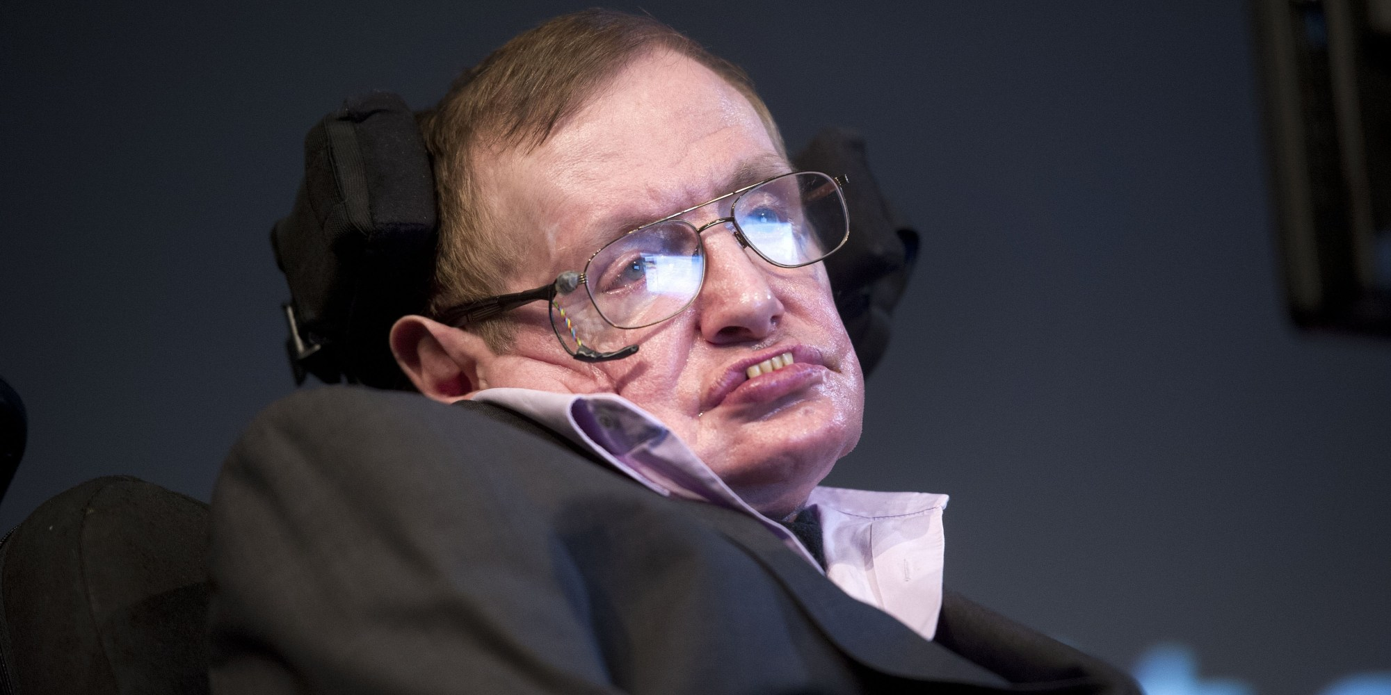 Stephen Hawking Calls Aggression The Human Failing He'd ... Stephen Hawking
