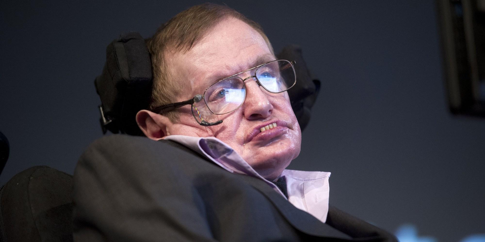 Stephen Hawking Calls Aggression The Human Failing He'd ... Stephen Hawking