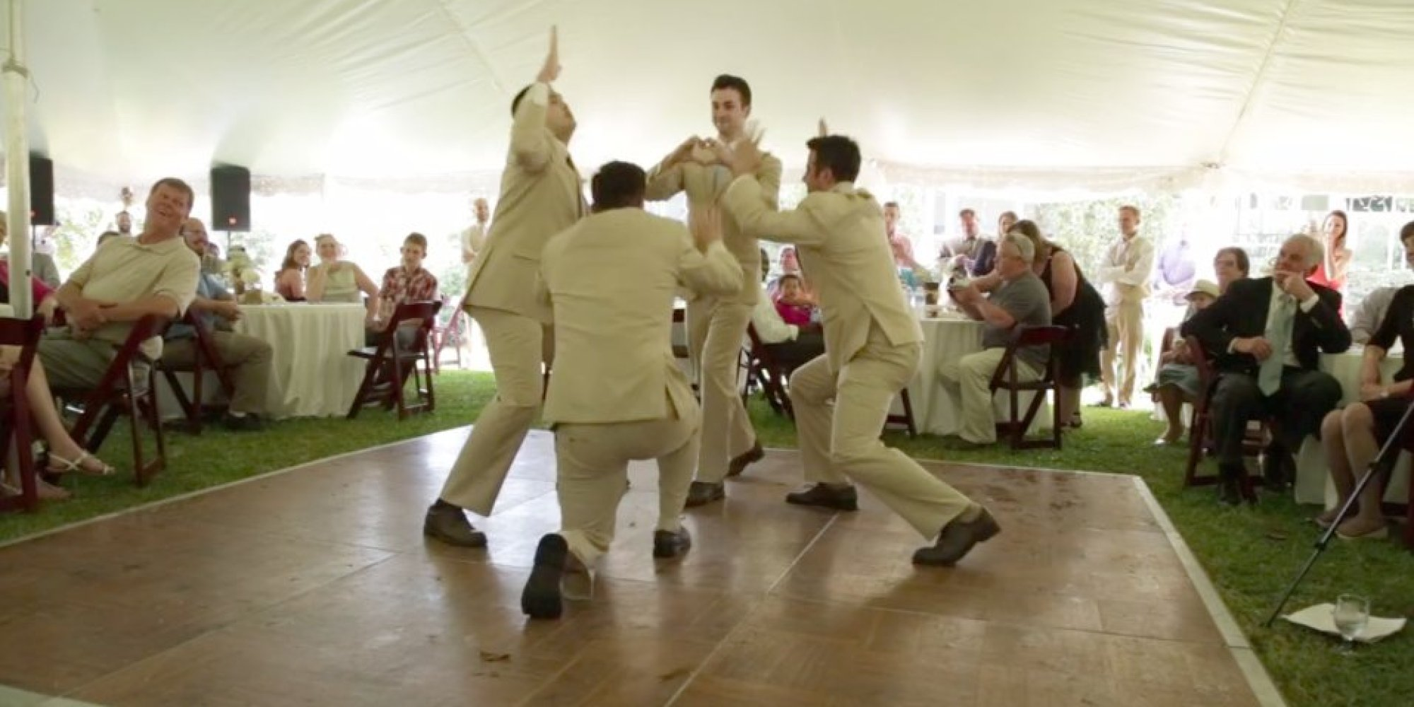 These Groomsmen Give Justin Timberlake A Run For His Money