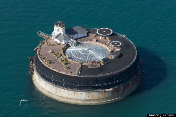 No Man S Land The Hotel Hidden In A British Sea Fort