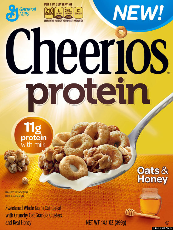oats honey cheerios protein