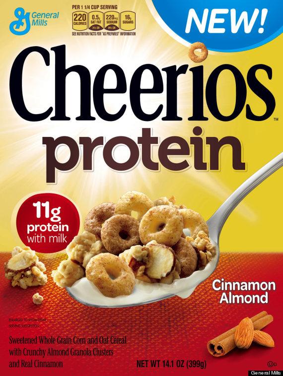 cinnamon almond cheerios protein