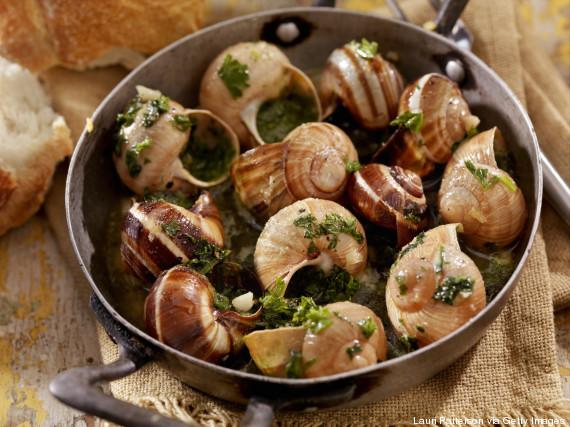 snails france