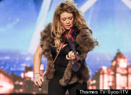 Lettice Gives Up Booze For 'BGT'