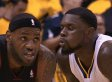 Lance Stephenson Got Weird With LeBron In Game 5 (GIF)