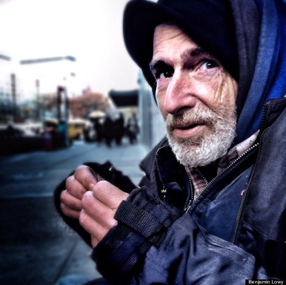 homeless photographer