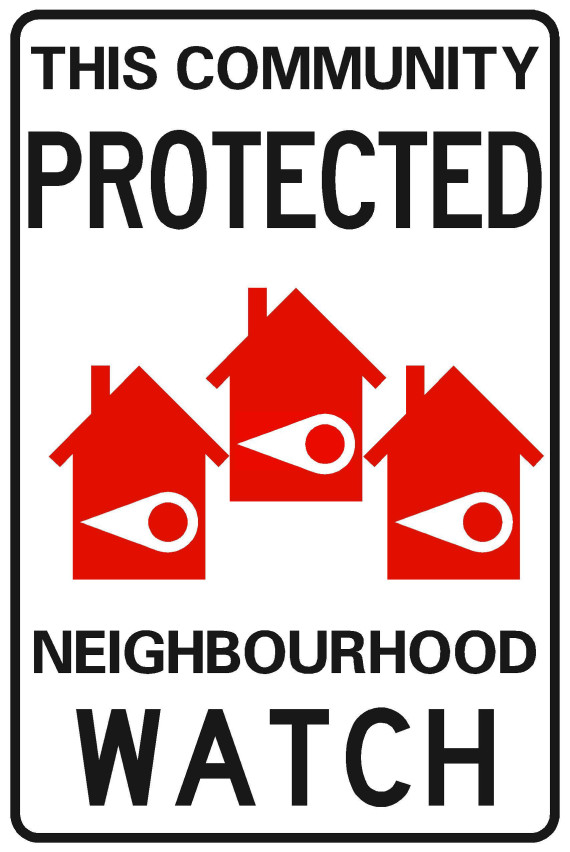 neighbourhood watch signs toronto