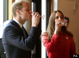 Kate And Wills Nail A Whisky At Scottish Distillery
