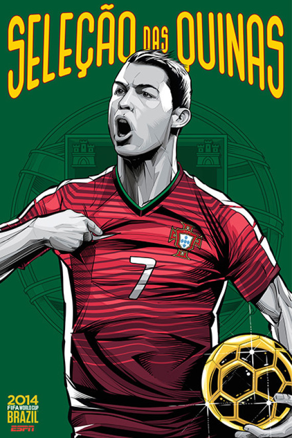 These World Cup Posters Are A Must See For Any Soccer Super Fan