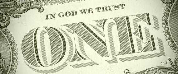 IN GOD WE TRUST MONEY