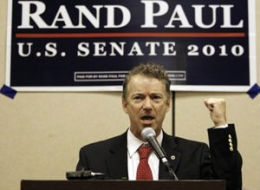 Rand Paul Tea Party Movement
