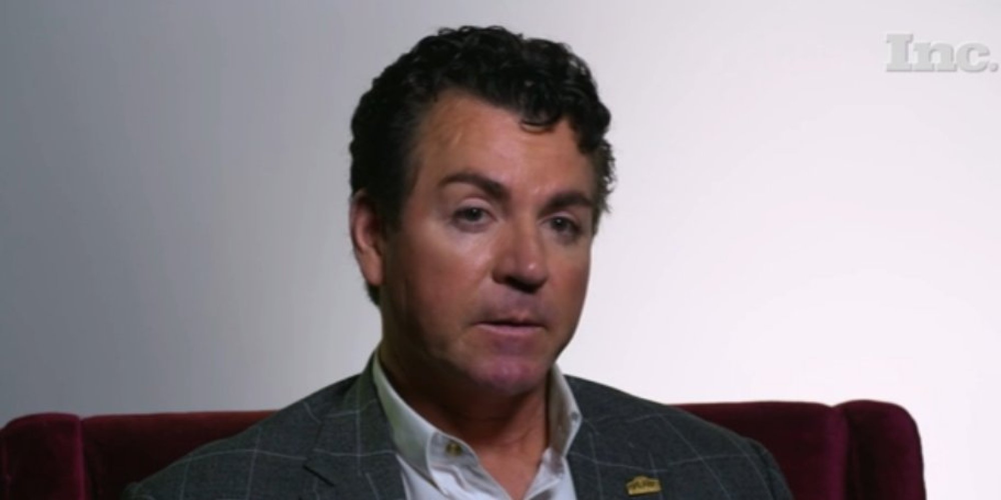 Papa john s ceo pizza s really nutritious it s good for you