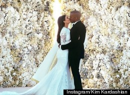 Kim's Wedding Photo Breaks Instagram Record