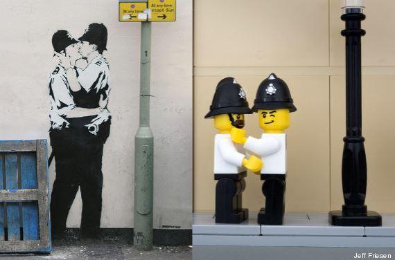 banksy bricksy