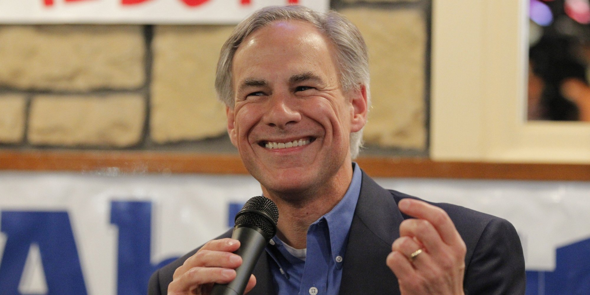 Superb img of Greg Abbott Played Key Role In Denying Log Cabin Republicans A Spot At  with #313C6B color and 2000x1000 pixels