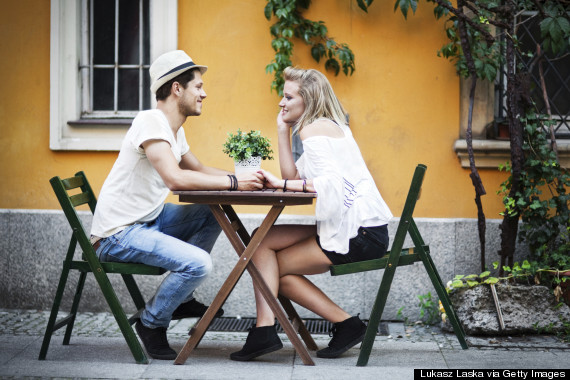 sit at table