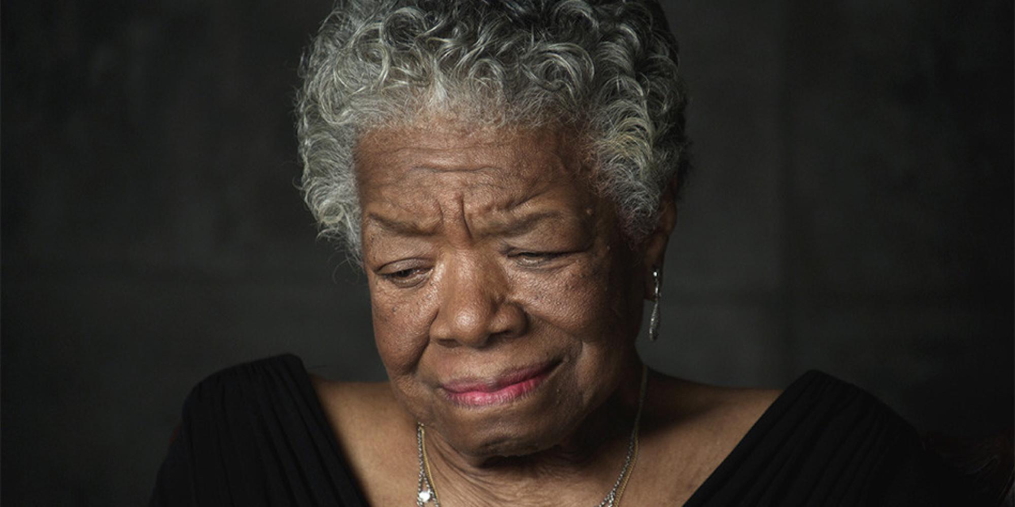 What Influenced Maya Angelou to Write?