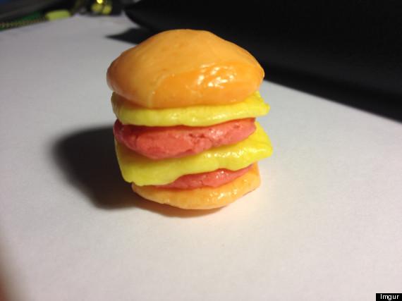 starburst burger
