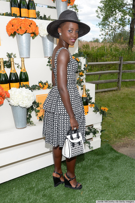 Lupita Nyong O Is Summertime Fine At The Veuve Clicquot