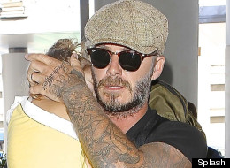 Becks Adds To His Tattoo Collection