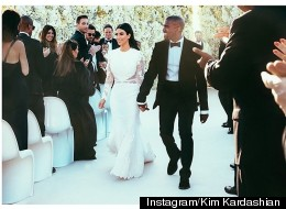 What Did Kanye Buy Kim As A Wedding Present?