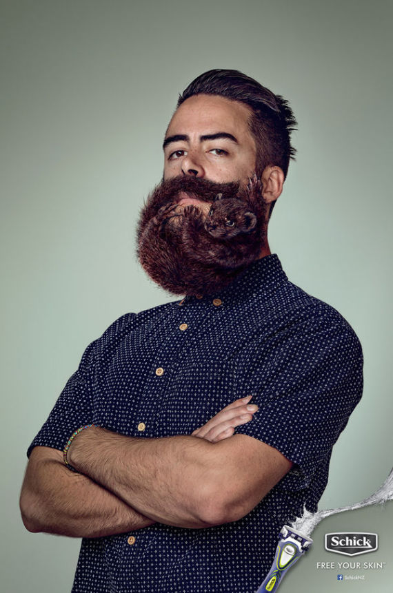 hipster men with beards shaped like animals have you ever seen anything so damn trendy. Black Bedroom Furniture Sets. Home Design Ideas