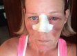 Woman Posts Domestic Violence Selfies To Facebook (GRAPHIC)
