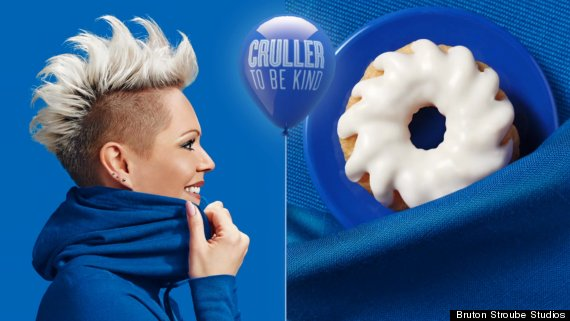 donut double cruller
