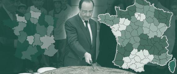 nouvelle carte régions France