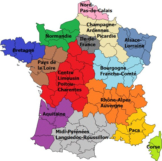The new landscape of administrative France