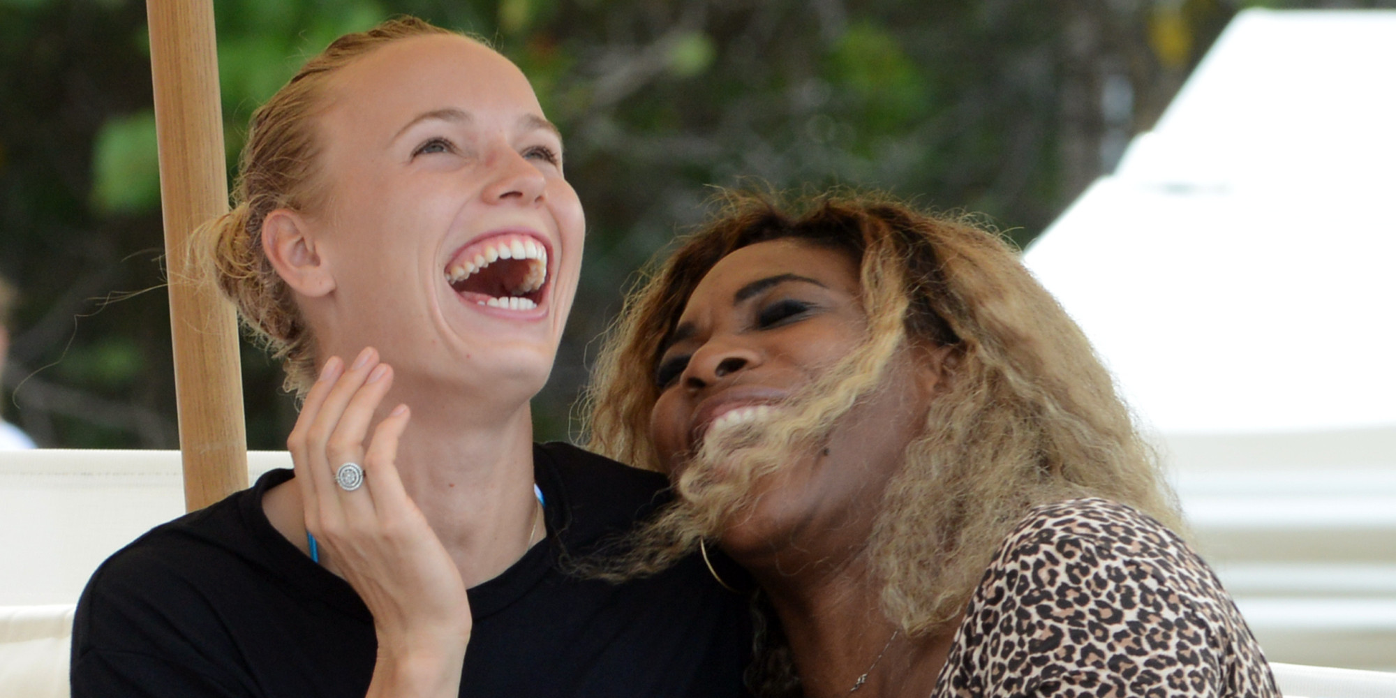 Serena And Caroline Responded To Disappointments In The Best Way ... Together And In Miami