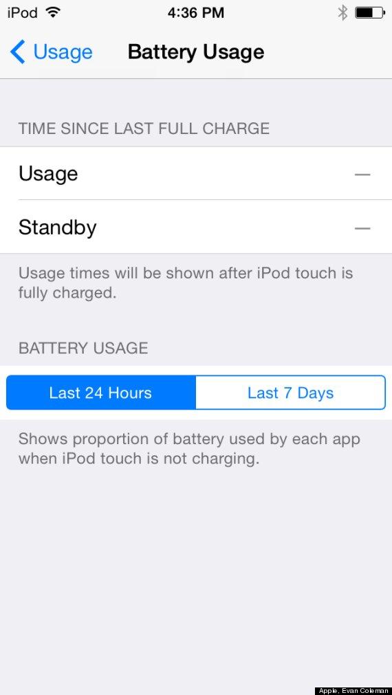 ios 8 battery