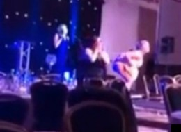 Buttocks Bared & Guest Headbutted At Scottish Hairdressing Awards (VIDEO)