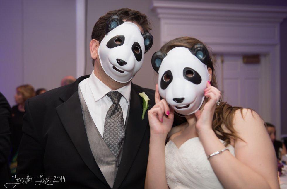 panda wedding