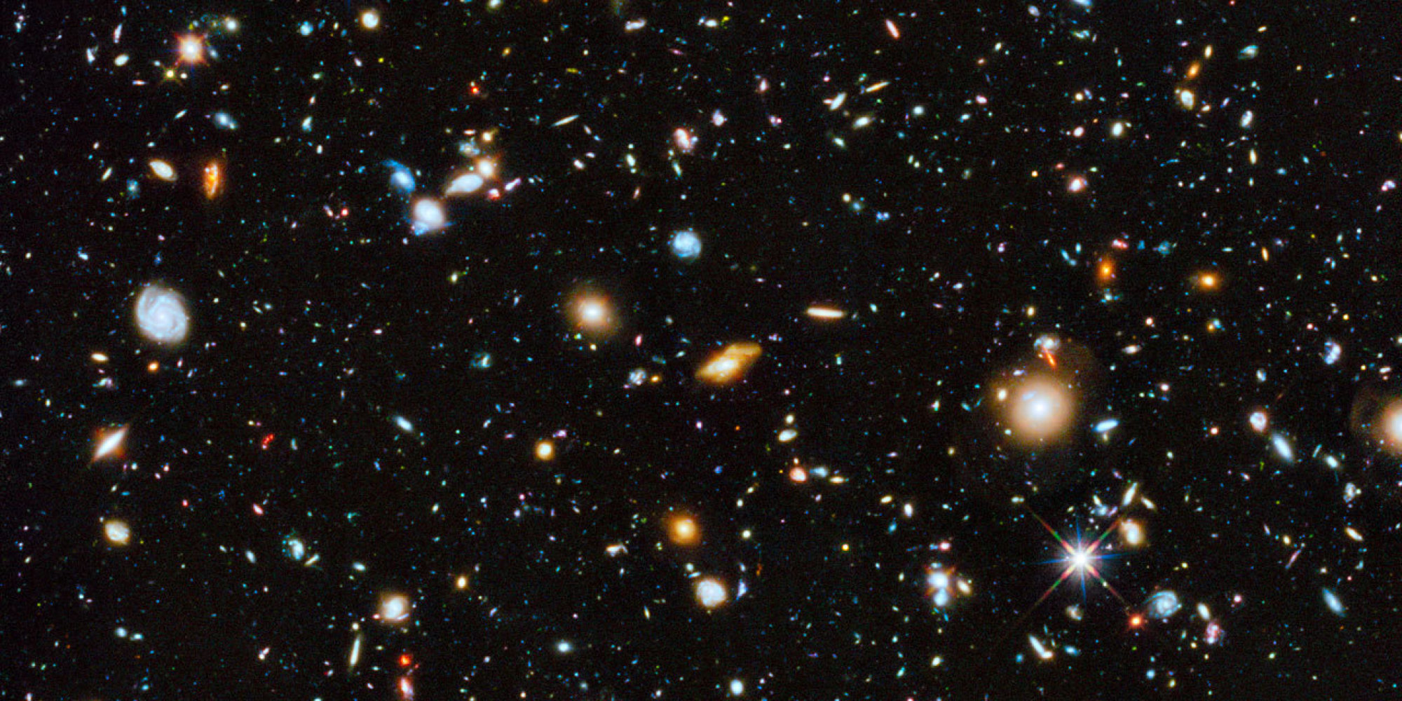 This Amazing Shot Of 10 000 Galaxies May Be The Hubble