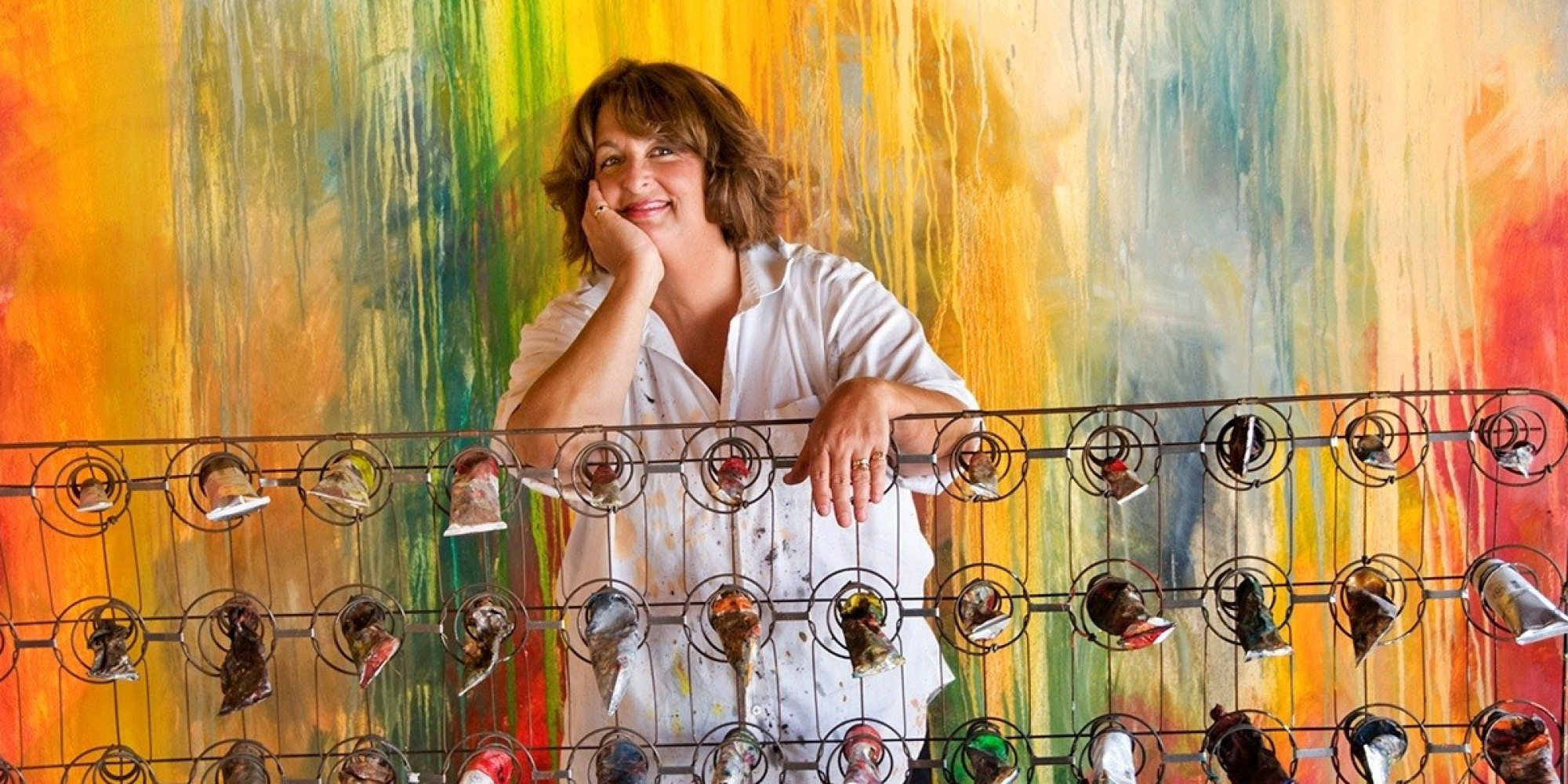 This Teacher Quit Her Job To Pursue Painting - Now Her Pieces Sell for $100,000